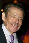 Jerry Stiller Attending The American Theatre Wing's Annual Luncheon at the Pierre Hotel, New York City.<br />April 14, 2003<br />Credit All Uses