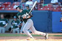 Michigan State Spartans Andrew Carpenter #12 during a game vs the Akron Zips at Chain of Lakes Park in Winter Haven, Florida;  March 12, 2011.  Michigan State defeated Akron 5-1.  Photo By Mike Janes/Four Seam Images