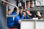 St Mirren v St Johnstone…29.08.21  SMiSA Stadium    SPFL<br />Liam Gordon missing out through injury<br />Picture by Graeme Hart.<br />Copyright Perthshire Picture Agency<br />Tel: 01738 623350  Mobile: 07990 594431