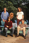 Various portrait sessions of the rock band, the Jayhawks