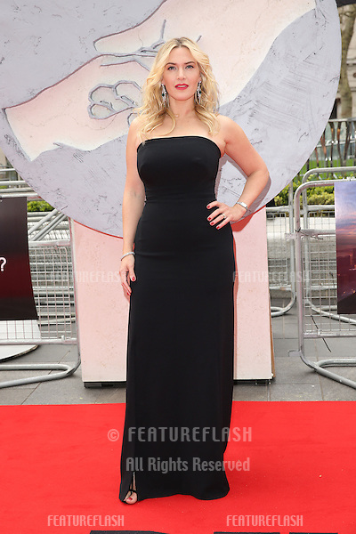 """Kate Winslet arrives for the """"Divergent"""" UK premiere at the Odeon Leicester Square, London. 30/03/2014 Picture by: Henry Harris / Featureflash"""