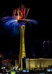 Fireworks Las Vegas Strat 2020