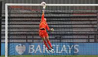 Becky Spencer of Tottenham Hotspur tips the ball onto the crossbar during Tottenham Hotspur Women vs Aston Villa Women, Barclays FA Women's Super League Football at the Hive Stadium on 13th December 2020