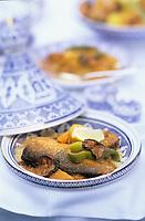 """Europe/France/Ile-de-France/Paris: Restaurant """"El Malouf"""" - Couscous au poisson //  Europe / France / Ile-de-France / Paris: Restaurant """"El Malouf"""" - Couscous with fish"""
