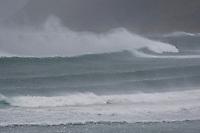 Brandung, starker Wellengang, Wellen, Welle, Gischt, Meer, Flut, Ozean