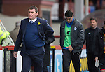Partick Thistle v St Johnstone.....14.03.15<br /> A bad day at the office for Tommy Wright<br /> Picture by Graeme Hart.<br /> Copyright Perthshire Picture Agency<br /> Tel: 01738 623350  Mobile: 07990 594431