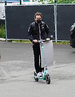 26th August 2021; Spa Francorchamps, Stavelot, Belgium: FIA F1 Grand Prix of Belgium, driver arrival day:  Fernando Alonso ESP 14, Alpine F1 Team