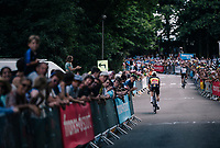 belgian champion Yves Lampaert (BEL/Quick Step Floors) up the final climb, 600 meters from the finish<br /> <br /> Stage 5: Lorient > Quimper (203km)<br /> <br /> 105th Tour de France 2018<br /> ©kramon