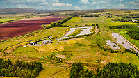 BNPS.co.uk (01202 558833)<br /> Pic: PurpleBricks/BNPS<br /> <br /> Pictured: The lochs and part of the 38 acres of land.<br /> <br /> A luxury ten-bedroom eco-home has gone on sale for offers in excess of £850,000 - the same price as a one-bedroom flat in Chelsea.<br /> <br /> The new owner will buy the chance to become an eco-laird, as the property can be run entirely off-grid and includes four lochs and 38 acres of land which could potentially be re-wilded.<br /> <br /> Leadburn Manor at West Linton is just 12 miles south of Edinburgh in Scotland, but looks out over open countryside.