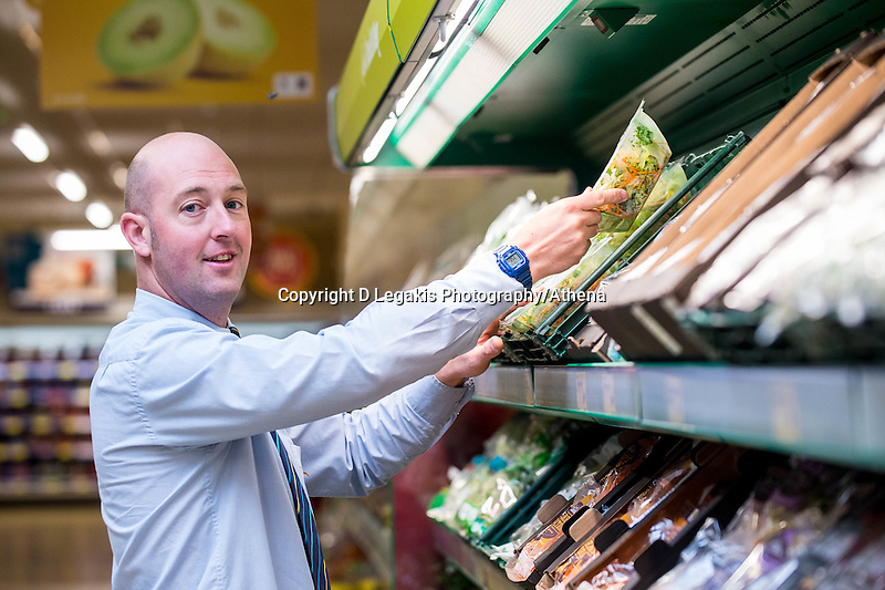 Thursday  21 July 2016<br /> Pictured: Store Assistant Manager Joel Hardaker Re: ALDI Haverfordwest Grand Re-opening