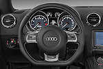 Steering wheel view of a 2008 - 2010 Audi TTS 3 Door Coupe 2WD