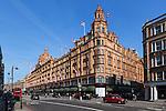 United Kingdom, London, Knightsbridge: Harrods Department store | Grossbritannien, England, London, Knightsbridge: Kaufhaus Harrods