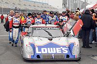 DAYTONA BEACH, FL - JANUARY 26,2008:  Driver Jimmie Johnson at the the Rolex 24 of Daytona at Daytona International Speedway January 26, 2008 in Daytona Beach, Florida <br /> <br /> People:   Jimmie Johnson