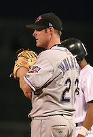 Akron Aeros Ryan Mulhern during an Eastern League game at Jerry Uht Park on June 28, 2006 in Erie, Pennsylvania.  (Mike Janes/Four Seam Images)