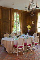 Europe/France/Rhône-Alpes/73/Savoie/Chambéry/ Chambéry-le-Vieux: Hôtel-Restaurant: Château de Candie -Salle de restaurant