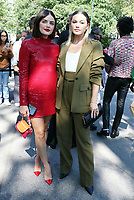 NEW YORK, NY- SEPTEMBER 10: Lucy Hale, Olivia Holt seen at the NYFW S/S 2022 Michael Kors fashion show at Tavern On The Green in New York City on September 10, 2021. Credit: RW/MediaPunch<br /> CAP/MPI/RW<br /> ©RW/MPI/Capital Pictures