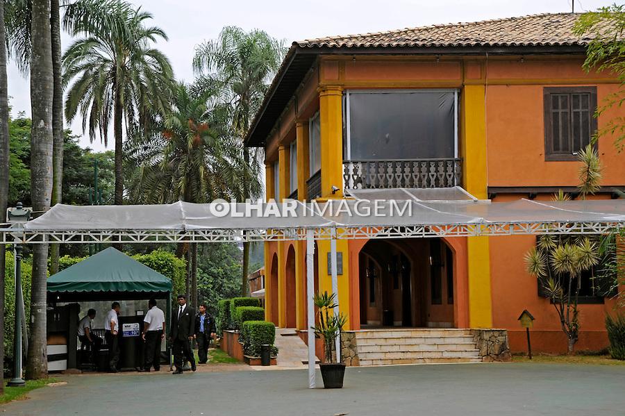 Restaurante Casa da Fazenda do Morumbi. São Paulo. 2009. Foto de Juca Martins.