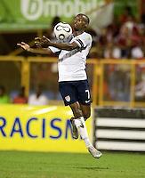 DaMarcus Beasley, 2010 FIFA World Cup qualifying, U.S. Men vs. Trinidad & Tobago.Hasely Crawford Stadium.Port of Spain, Trinidad.October 14, 2008.Trinidad and Tobago 2, USA 1