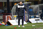 Dundee v St Johnstone…12.02.16   SPFL   Dens Park, Dundee<br />Paul Hartley shouts instructions<br />Picture by Graeme Hart.<br />Copyright Perthshire Picture Agency<br />Tel: 01738 623350  Mobile: 07990 594431