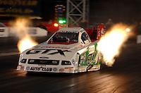 """Jan 20, 2007; Las Vegas, NV, USA; NHRA Funny Car driver John Force during preseason testing at """"The Strip"""" at Las Vegas Motor Speedway in Las Vegas, NV. Mandatory Credit: Mark J. Rebilas"""
