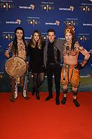 Danny Jones<br /> arriving for the Cirque du Soleil Premiere of TOTEM at the Royal Albert Hall, London<br /> <br /> ©Ash Knotek  D3471  16/01/2019