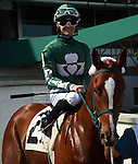 May 07, 2015  Constraint, ridden by jockey Nicolas J. Milford, was #2 in Race 1 at Churchill Downs, a 4 1/2 furlong dirt race for maiden two year old fillies.  Owner PTK LLC (Paula Haughey), trainer Dane Kobiske. By Hold Me Back x Tacky Waki (Miswaki)  She finished second to Fleet Grey.   ©Mary M. Meek/ESW/CSM