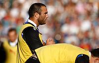 Photo: Richard Lane/Richard Lane Photography. Bath Rugby v Leicester Tigers. Aviva Premiership. 01/10/2011. Bath's Charlie Beech.