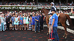 August 17, 2014: Main Sequence (#4) with Rajiv Maragh runs down Imagining to win the 40th running of the Grade I  Sword Dancer Invitational for 3-year olds & up, going 1 1/2 mile on the inner turf at Saratoga Racetrack. Trainer: H. Graham Motion . Owner: Flaxman Stable . Sue Kawczynski/ESW/CSM