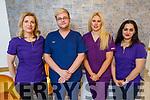 The staff of Susan Crean Dental Practice. L to r: Maria Buckley, Daniel Hyla, Susan Crean and Tereza Lakatosova
