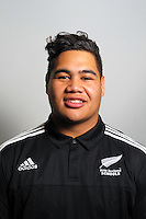 Alex Fidow. The 2015 New Zealand Schools rugby union team headshots at NZ Sports Institute, Palmerston North, New Zealand on Friday, 18 September 2015. Photo: Dave Lintott / lintottphoto.co.nz