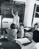 1973 FILE PHOTO -<br /> <br /> Older children go to school in the orphanage; which is a big white building on the outskirts of Saigon. A few miles away; the orphanage has a polio hospital.