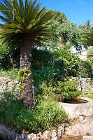 Villa Rufolo Italian gardens, Ravello. Amalf Coast, Italy