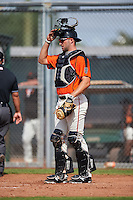 San Francisco Giants Matt Winn (13) during an Instructional League game against the Colorado Rockies on October 8, 2016 at the Giants Baseball Complex in Scottsdale, Arizona.  (Mike Janes/Four Seam Images)