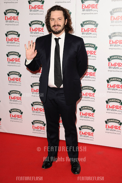 Edgar Wright<br /> arives for the Empire Magazine Film Awards 2014 at the Grosvenor House Hotel, London. 30/03/2014 Picture by: Steve Vas / Featureflash