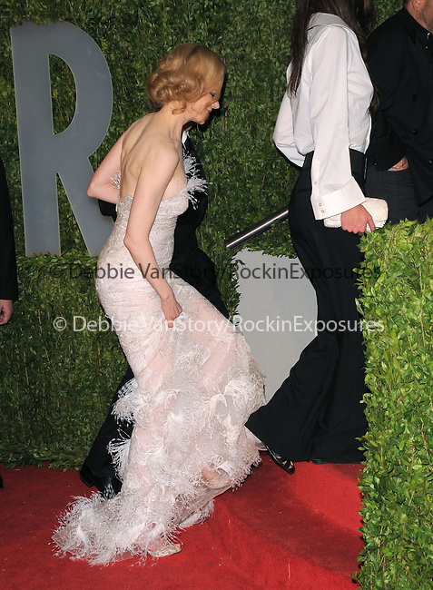 Nicole Kidman at The 2009 Vanity Fair Oscar Party held at The Sunset Tower Hotel in West Hollywood, California on February 22,2009                                                                                      Copyright 2009 RockinExposures / NYDN