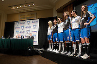 The San Jose Earthquakes and Amway Global announced a historic three-year partnership agreement today that will include Amway GlobalÕs name on the front of the Earthquakes jerseys beginning in 2009. The partnership also features a number of in-stadium, community and grassroots components that will provide greater visibility for both the Earthquakes and Amway Global.