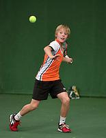 20131201,Netherlands, Almere,  National Tennis Center, Tennis, Winter Youth Circuit, ,   Fons van Sambeek<br /> Photo: Henk Koster