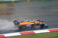 9th October 2021; Formula 1 Turkish Grand Prix 2021 Qualifying sessions at the Istanbul Park Circuit, Istanbul;  Lando Norris GBR 4 , McLaren F1 Team