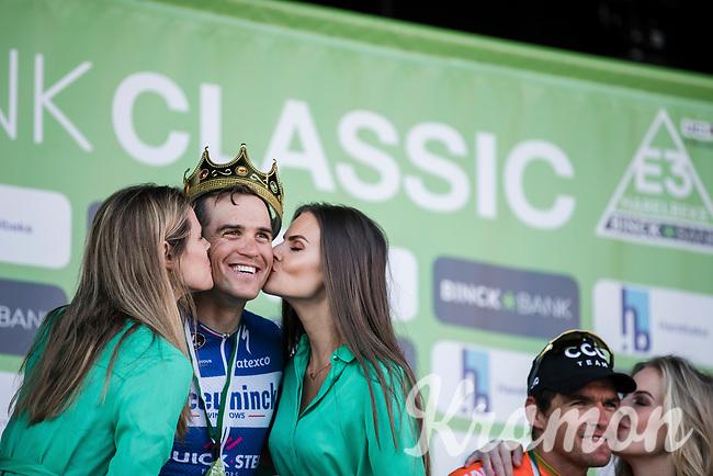 race winner Zdenek Stybar (CZE/Deceuninck Quick Step)<br /> <br /> 62nd E3 Harelbeke 2019 (1.UWT)<br /> Harelbeke – Harelbeke: 203,9km<br /> ©kramon