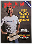 Bank of America Chairman and CEO (at time of photo), takes a short break while he works on a Habitat for Humanity House in a low income neighborhood in Charlotte..This was for a cover story profiling McColl, one of the most powerful men in banking, for Institutional Investor Magazine.