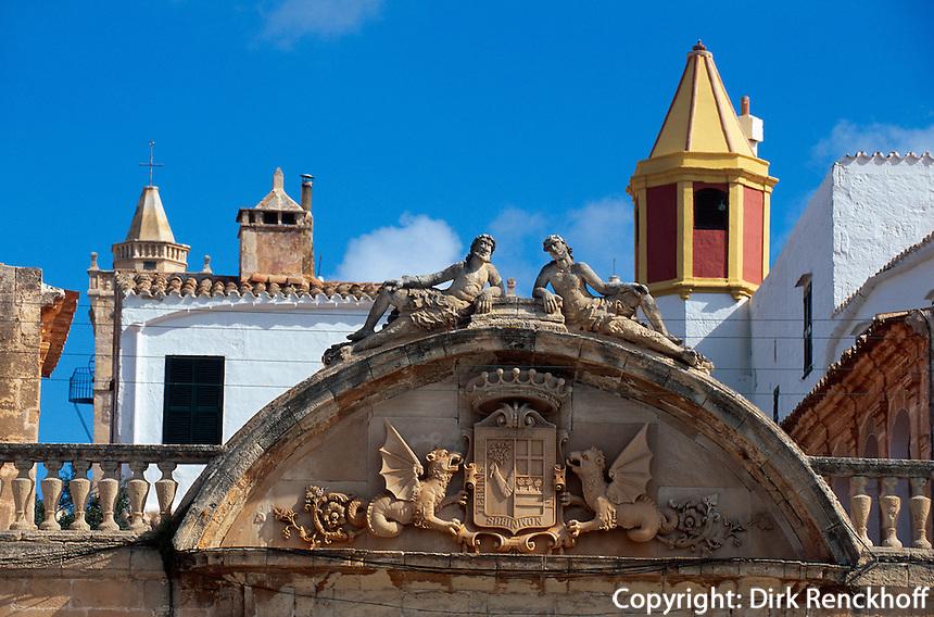Spanien, Menorca, Palau Torre Saura in Ciutadella