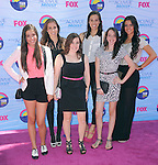 Cimorelli at FOX's 2012 Teen Choice Awards held at The Gibson Ampitheatre in Universal City, California on July 22,2012                                                                               © 2012 Hollywood Press Agency