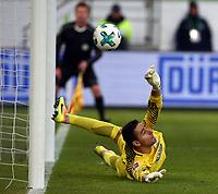 goalkeeper Koen Casteels  penalty  <br /> / Football: Germany, 1. Bundesliga  /  2017/2018 / 17.02.2018 / VfL Wolfsburg WOB vs. FC Bayern Muenchen FCB  *** Local Caption *** © pixathlon<br /> Contact: +49-40-22 63 02 60 , info@pixathlon.de