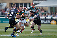 David Johnston of Ealing Trailfinders during the Greene King IPA Championship match between Ealing Trailfinders and Nottingham Rugby at Castle Bar , West Ealing , England  on 30 March 2019. Photo by Carlton Myrie.