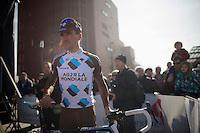 Christophe Riblon (FRA) at the start-podium<br /> <br /> 3 Days of West-Flanders <br /> stage 1: Brugge - Harelbeke 183km