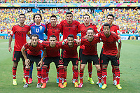 Fortaleza, Brazil - Tuesday, June 17, 2014: Mexico and Brazil are 0-0 ending the first half of World Cup group play at Estádio Castelão, <br /> <br /> 17/06/2014/MEXSPORT/OMAR MARTINEZ<br /> <br /> Estadio: Castelao, Fortaleza