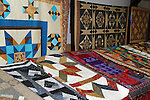 Quilt exhibit at Cheshire Fair in Swanzey, New Hampshire USA