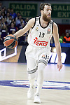 Real Madrid's Sergio Rodriguez during Euroleague match.January 22,2015. (ALTERPHOTOS/Acero)