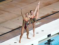 Stanford, CA; February 16, 2019; Synchronized Swimming, Stanford vs Lindenwood.