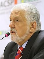 ATENCAO EDITOR: FOTO EMBARGADA PARA VEICULO INTERNACIONAL - SAO PAULO, SP, 11 NOVEMBRO 2012 - REUNIAO DO (COPS) E PLENARIA DA (ACSP)  - A Federaçao das Associaçoes  Comerciais do Estado de Sao Paulo (FACESP), recebeu nessa segunda feira em reuniao do Conselho Politico e Social (COPS), conjunta com a reuniao plenaria o prefeito de Sao Paulo Gilberto Kassab e o governador do estado da Bahia Jaques Wagner, na sede da Associaçao Comercial de Sao Paulo na regiao da  Se no centro da cidade nessa segunda, 12 (FOTO LEVY RIBEIRO/BRAZIL  PHOTO PRESS)